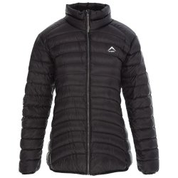 K-Way Ladies Swan '18 Down Jacket - Black black