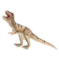 """HearthSong Giant Soft Flexible Latex Rubber T-rex Dinosaur Posable Toy Realistic Detail Color And Texture 38""""L"""