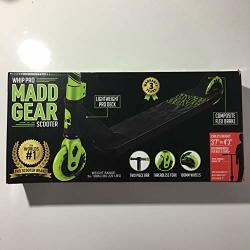Madd Gear Whip-pro Scooter Black green