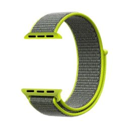 38MM Sports Loop Band For Apple Watch - Flash Green