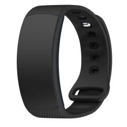 Killerdeals Silicone Strap For Samsung Gear Fit 2 R360 - Black