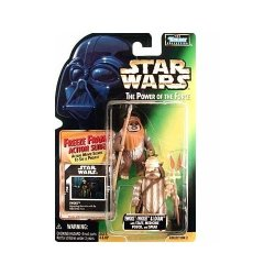 Kenner Star Wars: Power Of The Force Freeze Frame Ewoks: Wicket And Logray Action Figure