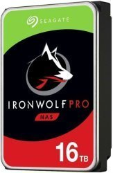 Seagate Ironwolf Pro 16TB 3.5 Inch Sata 6GB S Internal Hard Drive - 7200RPM