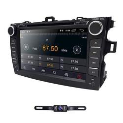 Hizpo Android 8 1 Double Din Car Stereo Radio For Toyota Corolla 2007-2011  8 Inch Touch Screen Gps Navigation Support Wifi Bluet   R6283 00  