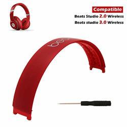 Beats Studio 3 Headband Replacement 3 Replacement Headband Top Head Band For STUDIO3 3.0 Wired wireless Headphones Matte Red