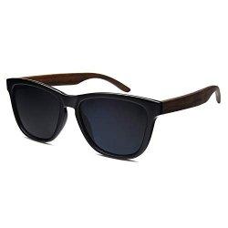 Wooden Sunglasses Ablibi Polarized Womens Wood Sunglasses Handmade Lightweight Shades With Box Grey