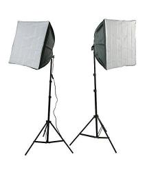 Ephotoinc Photography Video Studio Lighting Kit 2 Ez Softboxes Flourescent Photo Video Lighting H24S