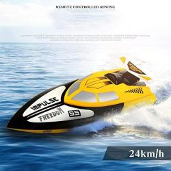 Aiojy MINI Speedboat 2.4GHZ Submarine Child Summer Ships Prevent Ingress Water 4 Channels Model High Speed 25KM H Simulation Sports Rowing Electric Toy Remote Control