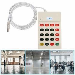 Pbzydu Door Access Card Reader Smart Keyboard Frid Ic id Card Control Readers Dual USB Security Door Entry Id