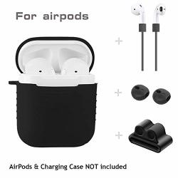 8276f3e318b YYY 5 In 1 Airpods Accessories Kits Protective Silicone Cover And Skin For Apple  Airpods Charging Case With Airpods Ear Hook Air