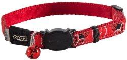 Rogz - Fancycat 11MM Breakaway Collar - Red Ladybird - Red