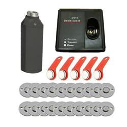 SecureControl 20PCS Checkpoint Contact TM1990A Touch Probe Security Guard Tour Patrol Management Systems