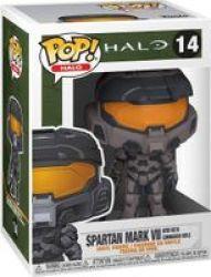 Pop Halo: Halo Infinite - Spartan Mark Vii With VK78 Commando Rifle Vinyl Figure