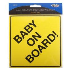 Moto-Quip - Baby On Board Sticker