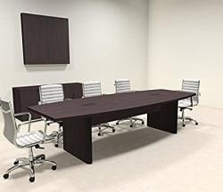 Modern Boat Shaped 10' Feet Conference Table OF-CON-CP3