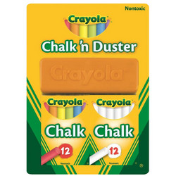 Prima Crayola Chalk 'n Duster Set