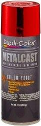 Dupli-Color EMC200007-6 Pk Red Anodized Metalcast Paint - 11 Oz. Aerosol Case Of 6