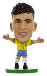 Soccerstarz Figure - Brazil Neymar Jr - Home Kit
