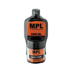 MPL Twin Pack Hair Food & Hair Oil 60G + 125G