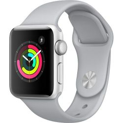 Apple Watch Series 3 38MM Gps Only Silver Aluminum