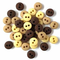 Buttons Galore And More Tiny & Micro Collection - Extensive Selection Of Tiny & Micro Novelty Buttons For Diy Crafts Scrapbooking Sewing Cardmaking And