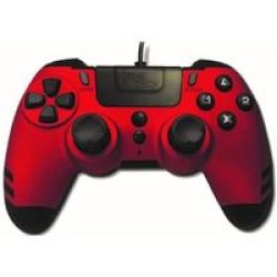 Steelplay - Metaltech Wired Controller - Red PS4