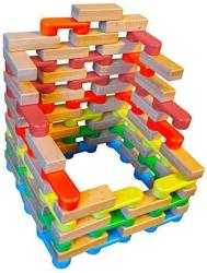 Magz Combo Bricks 80 Magnetic Building Blocks Consisting Of 40 Standard  Bricks And 40 Wooden Bricks | R | Accessories | PriceCheck SA