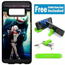 Limited Editions For Samsung Galaxy S8+ S8 Plus Defender Rugged Hard Cover Case - Harley Quinn Real Whysoserious