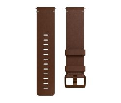 Fitbit Versa - Accessory Band - Leather cognac - Large