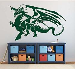 Dragon Wall Decal Vinyl Sticker Decor For Children's Bedroom Playroom Game Room Ancient Chinese Symbol Of Power |