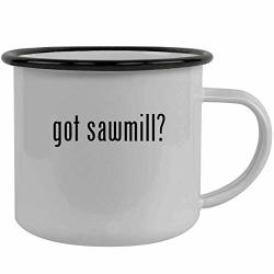 Got Sawmill? - Stainless Steel 12OZ Camping Mug Black
