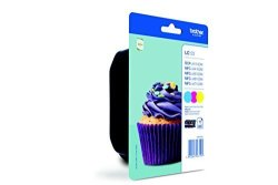 Brother LC123 Inkjet Cartridge - Assorted