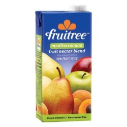 Fruitree Mediterranean Juice 1L X 12