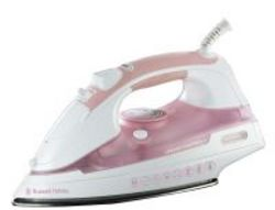 Russell Hobbs Crease Control Steam Iron in Pink