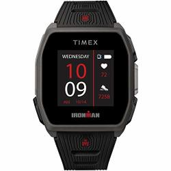 Timex Ironman R300 Gps Smartwatch With Heart Rate 41MM Dark Gray With Black Silicone Strap