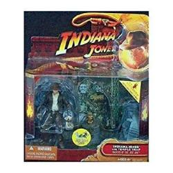 Raiders Of The Lost Ark: Indiana Jones With Temple Trap