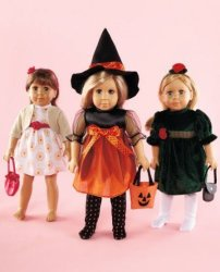 """LTD 18"""" Doll Clothes Halloween Christmas Dress 3 Party Outfits Fits American Girl Our Generation Madame Alexander And Other 18 Inch Dolls"""