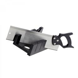 TOPLINE Plastic Mitre Box With Back Saw