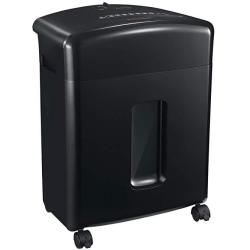 Bonsaii 12-SHEET Cross-cut Paper Cd dvd And Credit Card Shredder With 3.5-GALLONS Pullout Basket Black C220-A