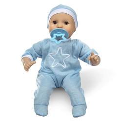 EWarehouse Melissa & Doug Mine To Love Jordan 12 Light Skin-tone Boy Baby Doll With Romper Cap Pacifier