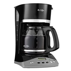 Mr. Coffee Simple Brew 12-CUP Programmable Coffee Maker Black
