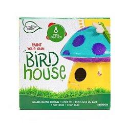 Horizon Group Creative Roots Mushroom Birdhouse By Usa