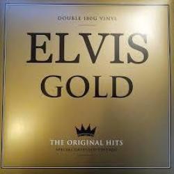 Elvis Gold Vinyl Record