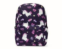 SIDEKICK Kids Backpack - Unicorns - Navy
