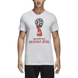 SLD Of The Adidas Group Adidas World Cup Soccer World Cup Emblem Men's Tee XL White