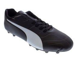 Puma Men's Invade Fg Dp Soccer Boots - Black white