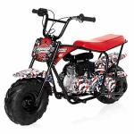 Monster Moto - Gas MINI Bike - 80CC 2.5HP MM-B80-AF American Flag
