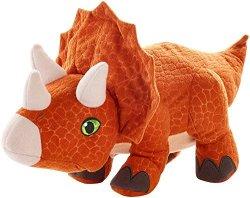Mattel Jurassic World Reversible Triceratops Plush Figure