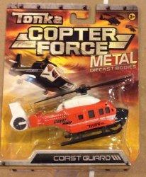 Tonka Metal Diecast Bodies Copter Force - Coast Guard