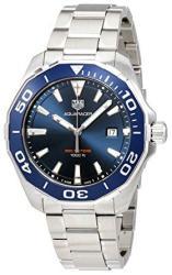 Tag Heuer Aquaracer Blue Dial Mens Watch WAY101C.BA0746